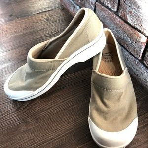 DANSKO VEGAN Canvas Clogs Slip On Comfort Shoes 40